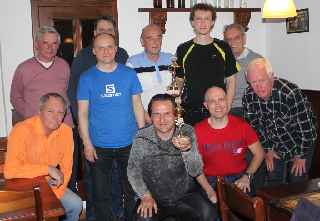 Oslava úspěšné šachové sezóny 2015/2016