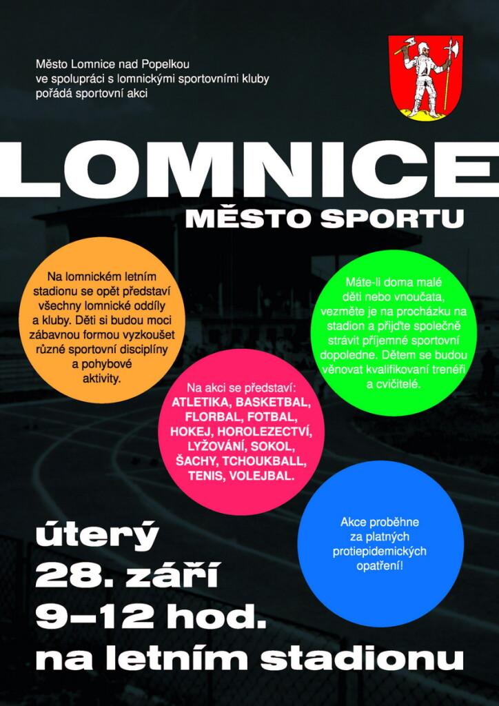 Lomnice - město sportu 2021